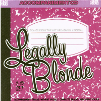 Legally Blonde Accompaniment CDG
